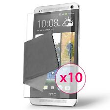 Films de protection Clear HD HTC One (M7) Lot de 10