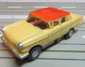 FALLER AMS Rarity Rare Opel Kapitän with Block Engine +8 Repro Tyres
