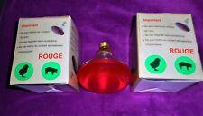 SOLDE -20%  Lampe Chauffante infra rouge 175W 230V  Par 38 Pour Tout Animaux