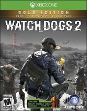 Watch Dogs 2: Gold Edition (Microsoft Xbox One, 2016)