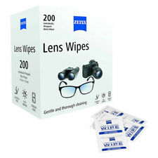 ZEISS Lens Wipes - White, Pack of 200