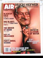 AIR BRUSH ACTION Magazine May June 2008 NEW Hugh Hefner Interviewed, Dru Blair