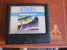 ATARI 5200 REGION FREE OFFERS/COMBINE - SILVER PICTURE- 5203 SUPER BREAKOUT