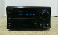 Onkyo Model CR-325 CD AM/FM Radio 2.1 Stereo Receiver For Parts Or Repair