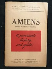 Amiens Before & During the War Panoramic History & Guide 1919 World War I
