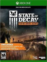 NEW State of Decay: Year-One Survival Edition Microsoft Xbox One