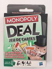 JEU DE CARTES MONOPOLY DEAL neuf
