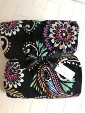 Vera Bradley Plush Throw Blanket Bandana Swirl Very Soft New Retail $55