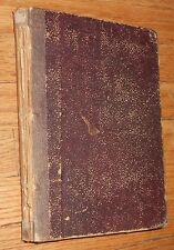 1886 Antique Book Jules Verne Keraban L'Ostinato Milan ed Kéraban the Inflexible