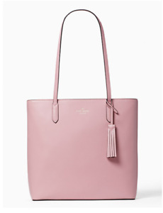 NWT Kate Spade New York Jana Leather Tote Bright Carnation Pink Gift New