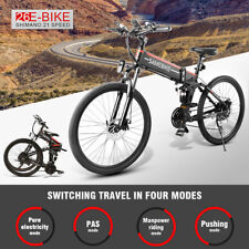 "Samebike Bicicletta elettrica Mountain Bike EBike Ciclomotore 48V 500W 26 ""Ruota"