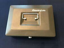 Sentry Safe Cb10 Lock Box With Cash Tray And Key