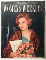 RARE Vintage old book magazine WOMAN'S WEEKLY 1961 advertising adds Arnotts