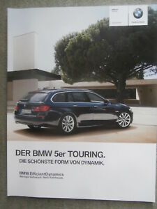BMW 520i 528i 530i 535i 550i xdrive,520d-M550d F11 Touring 3//2012+M Paket Brochu