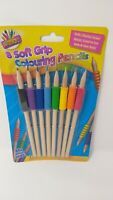 ARTBOX PACK OF 8 SOFT GRIP COLOURING PENCILS (REF-1048)