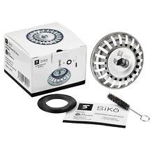 SiKö Siebkörbchen Ø 82mm für Standard Küchenspülbecken und Blanco Spüle mit