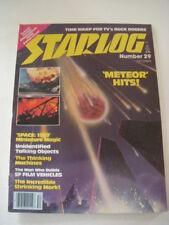 STARLOG Magazine #29, DECEMBER 1979, METEOR, BUCK ROGERS, SPACE: 1999, MORK!