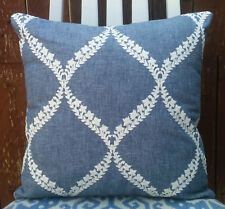 """Embroidered Cushion Cover / 16""""x16"""""""
