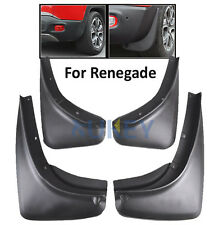 MUD FLAPS FOR Jeep Renegade 2015 2016 2017 Front&Rear Deluxe Molded Splash Guard