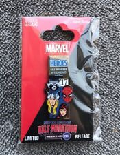 Disney Pin NEW DLR runDisney Marvel Super Heroes Half Marathon '17 Weekend