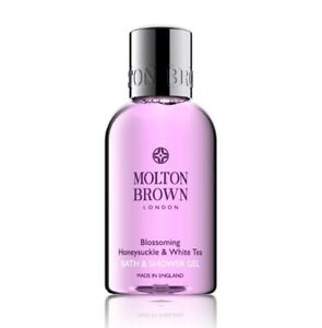 Molton Brown Blossoming Honeysuckle & White Tea bath and shower 50ml Travel size