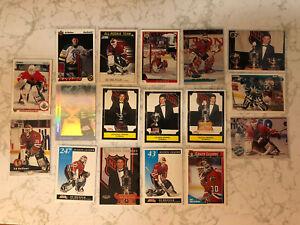 Ed Belfour 17 Goalie Hockey Cards Lot 1991-1998 RC RP SP UD AW Blackhawks Sharks