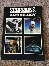 SCORPIONS AntHology GUITAR TABLATURE  SONGBOOK