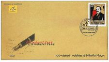 Albania 2013. The 100th anniversary of Nikolla Naço´s death. FDC MNH