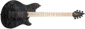 EVH WOLFGANG WG Standard Mn Qm T-Blk Guitare Électrique Eddie Van Halen