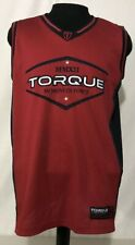 Torque Men's Basketball Jersey Size Large.
