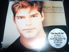 Ricky Martin The Cup Of Life Australian CD Single – Like New