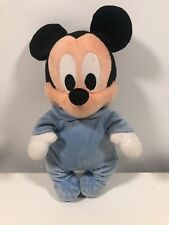 """Disney Babies Mickey Mouse Plush Soft Toy 12"""" Disney Parks Exclusive"""