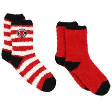 Avengers Black Widow Womens Cozy Socks (Teen/Adult) Mcr1185