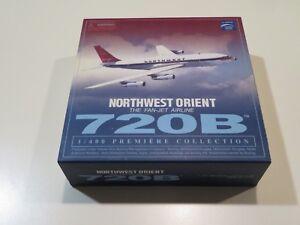 Dragon Wings Northwest Orient 720B  N721US  1:400 Die Cast Model w/stand =
