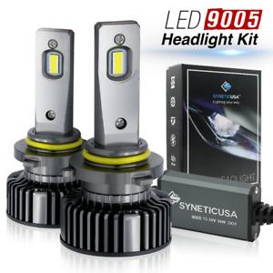ew Syneticusa HB3 9005 LED Headlight Fog Light Bulbs Kit Low Beam 6000k White