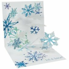 NEW Up With Paper Pop-Up & Light-Up Holiday Christmas Card - Flurry