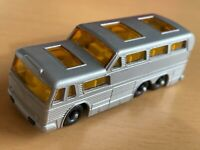 Matchbox Lesney No 66 Silver Greyhound Coach - No Decals - MINT