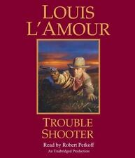 Louis L'Amour TROUBLE SHOOTER Unabridged CD *NEW* FAST Ship! $30 Value