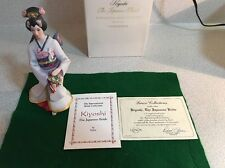 Lenox Kiyoshi The Japanese Bride Figurine, W/original Box & Certificate 1992