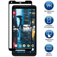 3D Curved Clear Tempered Glass Screen Protector Film For Google Pixel 2 / 2XL