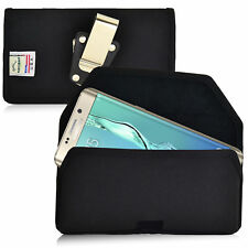 New Galaxy S6 Edge Plus Belt Case Turtleback Nylon Holster Pouch Belt Clip