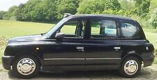TX1 TX2 TX4 Taxi Side Body Mouldings Protectors Chrome One Stripe Brand New