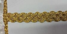 Metallic gold braid ,sold by 20 yards ,br-126