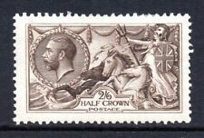 More details for gb kgv 1913 sg400 2/6d sepia brown waterlow seahorse fine mint hinged cat £300