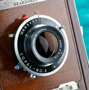 Schneider GOLD DOT Dagor large format lens with Copal Shutter 3