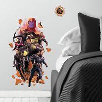 Marvel Avengers Endgame: Peel & Stick GIANT Wall Decals Kids SUPERHERO Stickers