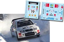 Decal 1:43 PG Andersson - SKODA FABIA WRC - Rally Norway 2009