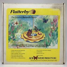 New Flutterby Butterfly Feeder by Nature Products - Instructions in Listing Pics
