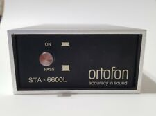 ORTOFON STA-6600L Jörgen Schou SPU MC Step Up Transformer USED