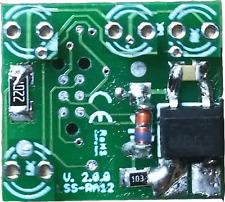 3 Kanal Signalplatine analog/digital, Signaldecoder LGB, H0, Massoth, Piko mXion
